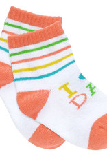 About Face I (Heart) Dad Baby Socks