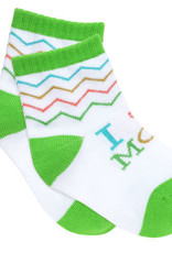 About Face I (Heart) Mom Baby Socks