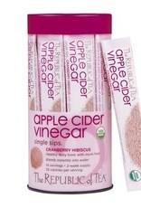 Republic of Tea Apple Cider Cranberry Hibiscus Single Sips