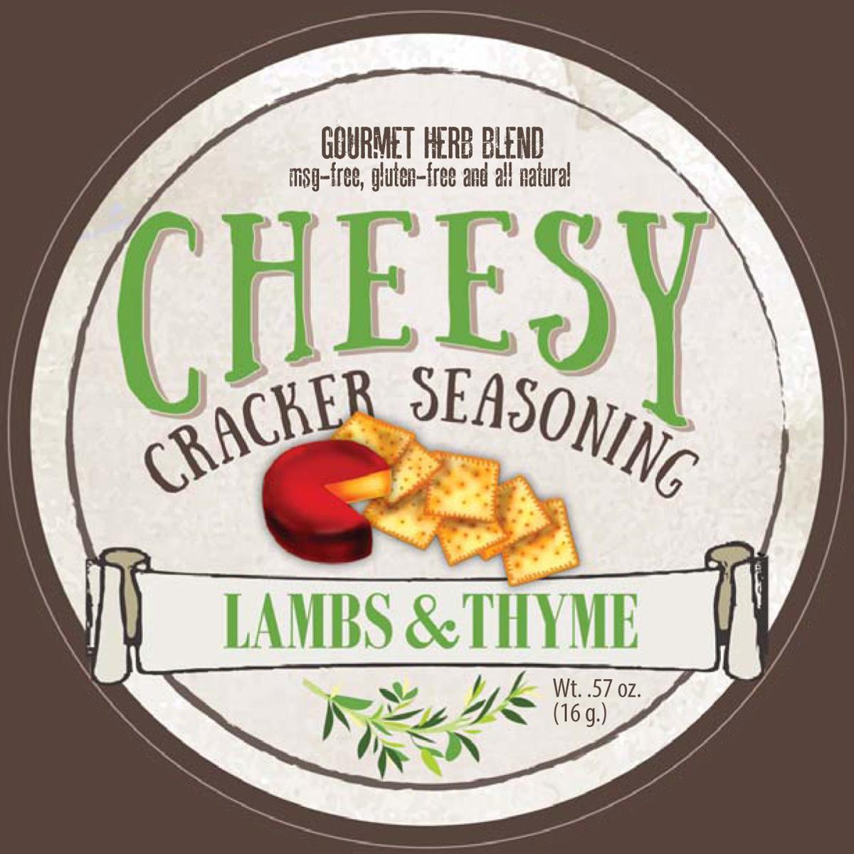 Lambs & Thyme Cracker Seasoning Cheesy