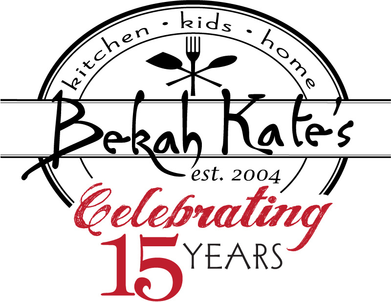Bekah Kate's Anniversary Logo 15 years