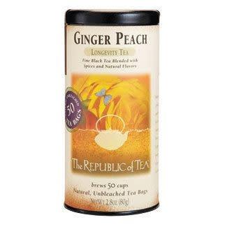 Republic of Tea Ginger Peach bags