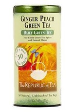 Republic of Tea Green Ginger Peach