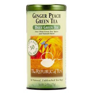 Republic of Tea Green Ginger Peach