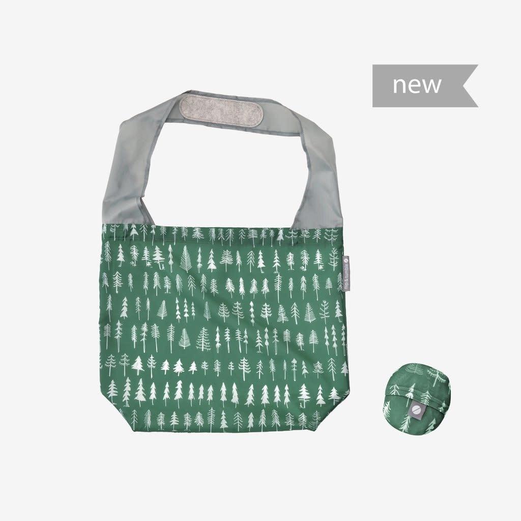 Flip & Tumble Reusable Shop Bag Evergreen