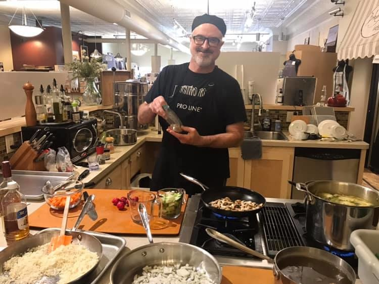 Risotto Cooking Class 8/20/19