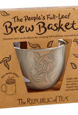 Republic of Tea Brew Basket Stainless Steel