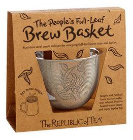 Republic of Tea Brew Basket Stainless Steel