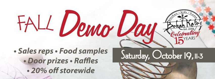 Demo Day at Bekah Kate's in Downtown Baraboo