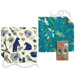 Bees Wrap Wildlife Sandwich 2-Pack