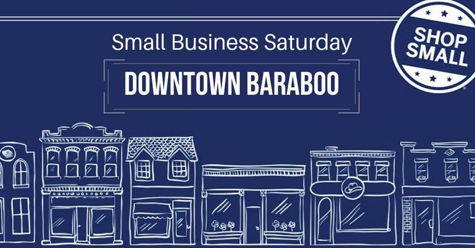 Small Business Saturday in Downtown Baraboo
