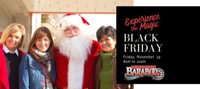 Black Friday Shopping in Downtown Baraboo