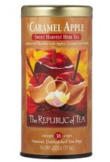 Republic of Tea Caramel Apple Red Bag