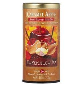 Republic of Tea Caramel Apple Red Bag