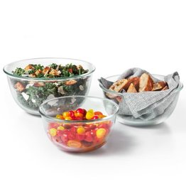 Oxo Oxo Glass Bowl Set 3pc Set