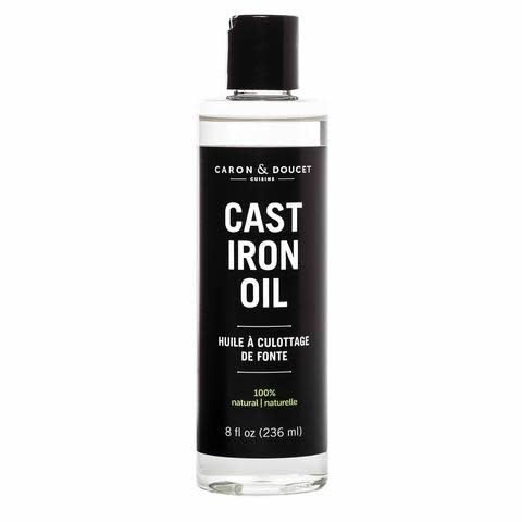 Caron & Doucet Cast Iron Oil