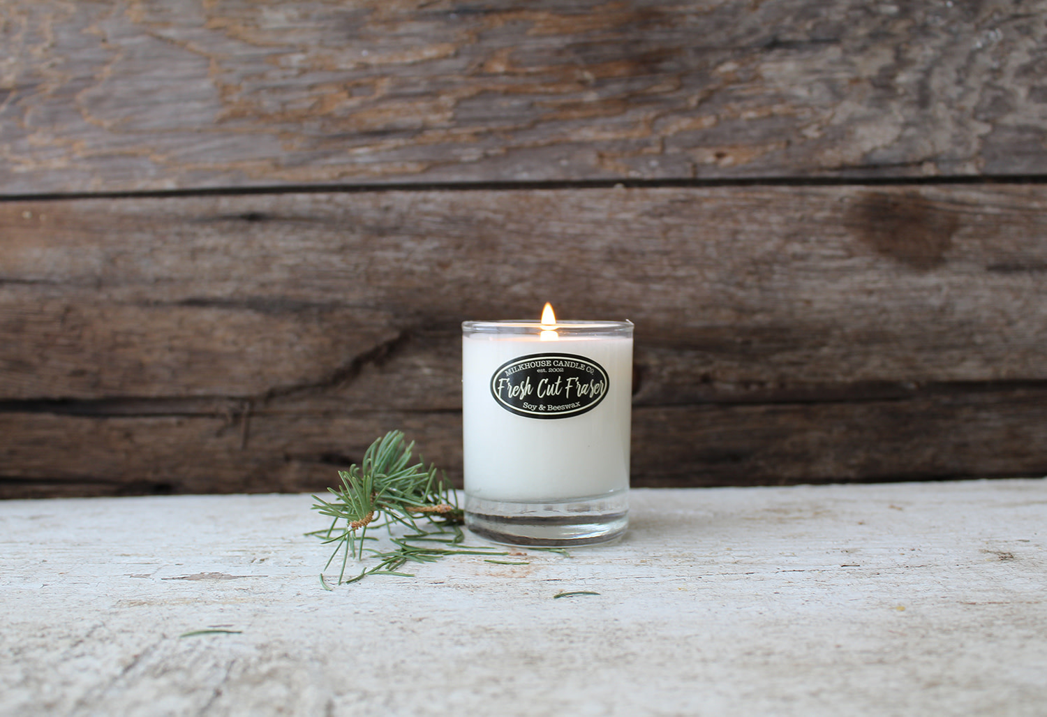 Milkhouse Buttershot Candle