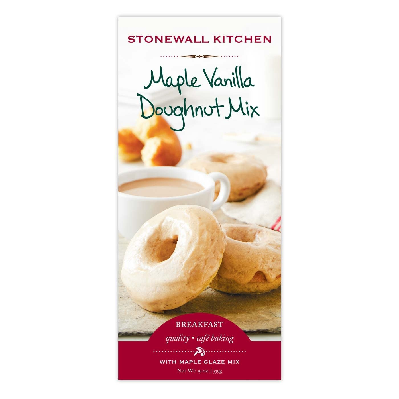 Stonewall Kitchen Doughnut Mix Vanilla Maple Glaze