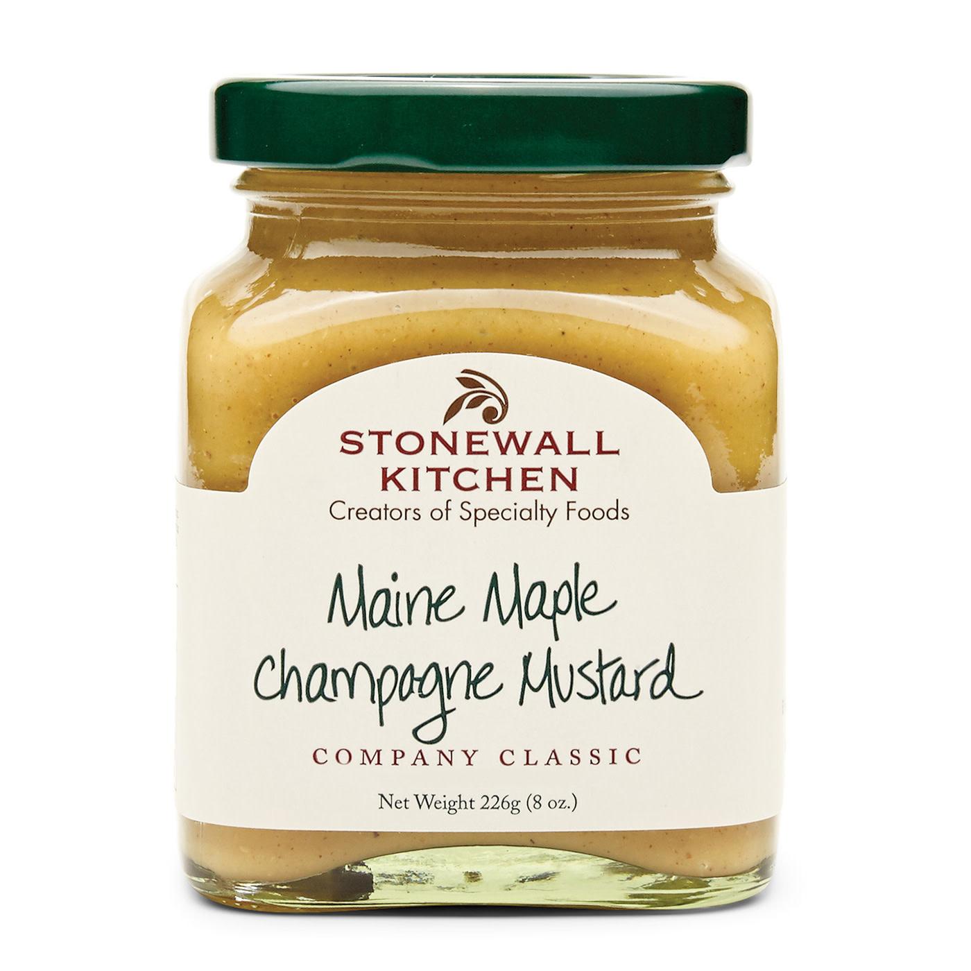 Stonewall Kitchen Mustard Maine Maple