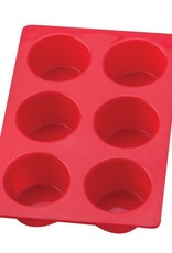 Harold Mrs. Anderson's Silicone Muffin Pan 6 cup