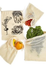 Twos Co Reusable Produce Bags s/4
