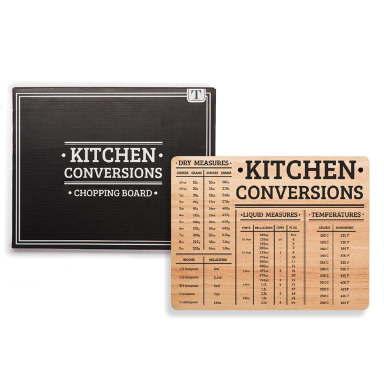 Twos Co Kitchen Conversions Chopping Board