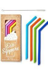 Twos Co Reusable Straws s/4