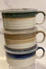 22 oz Souper Mug w Lid Embsd w Reactive Green