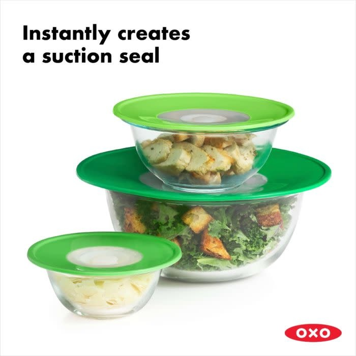 Oxo Oxo Silicone Lid Set Green