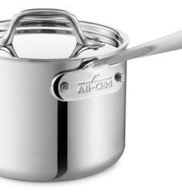 All-Clad D3 Sauce Pan w/Ld 2Qt