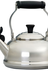 Le Creuset 1.8Qt Whistling Tea Kettle Stainless Steel