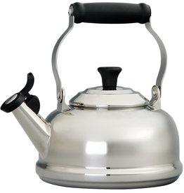 Le Creuset 1.8Qt Whistling Tea Kettle Stainless Steel