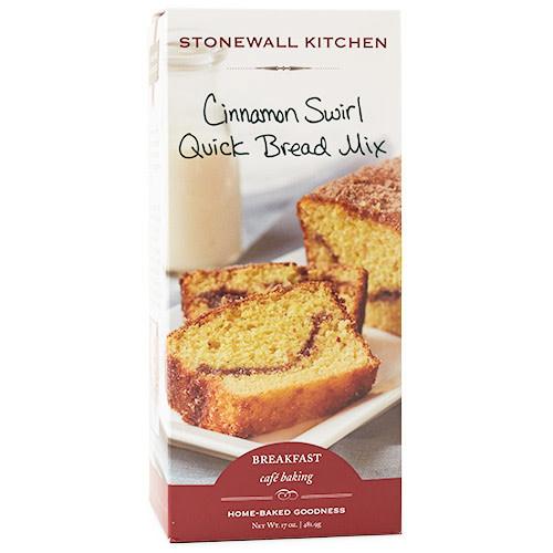 Stonewall Kitchen Quick Bread Cinnamon Swirl