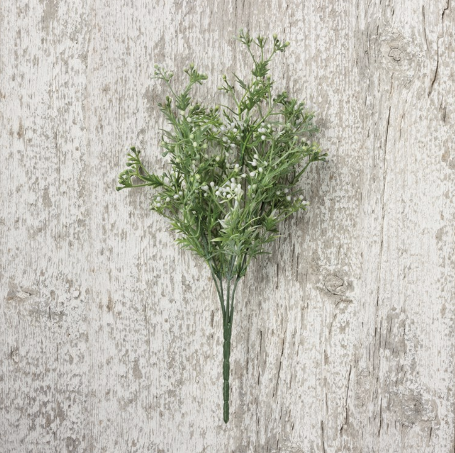 Primitives Floral Picks--White Berries