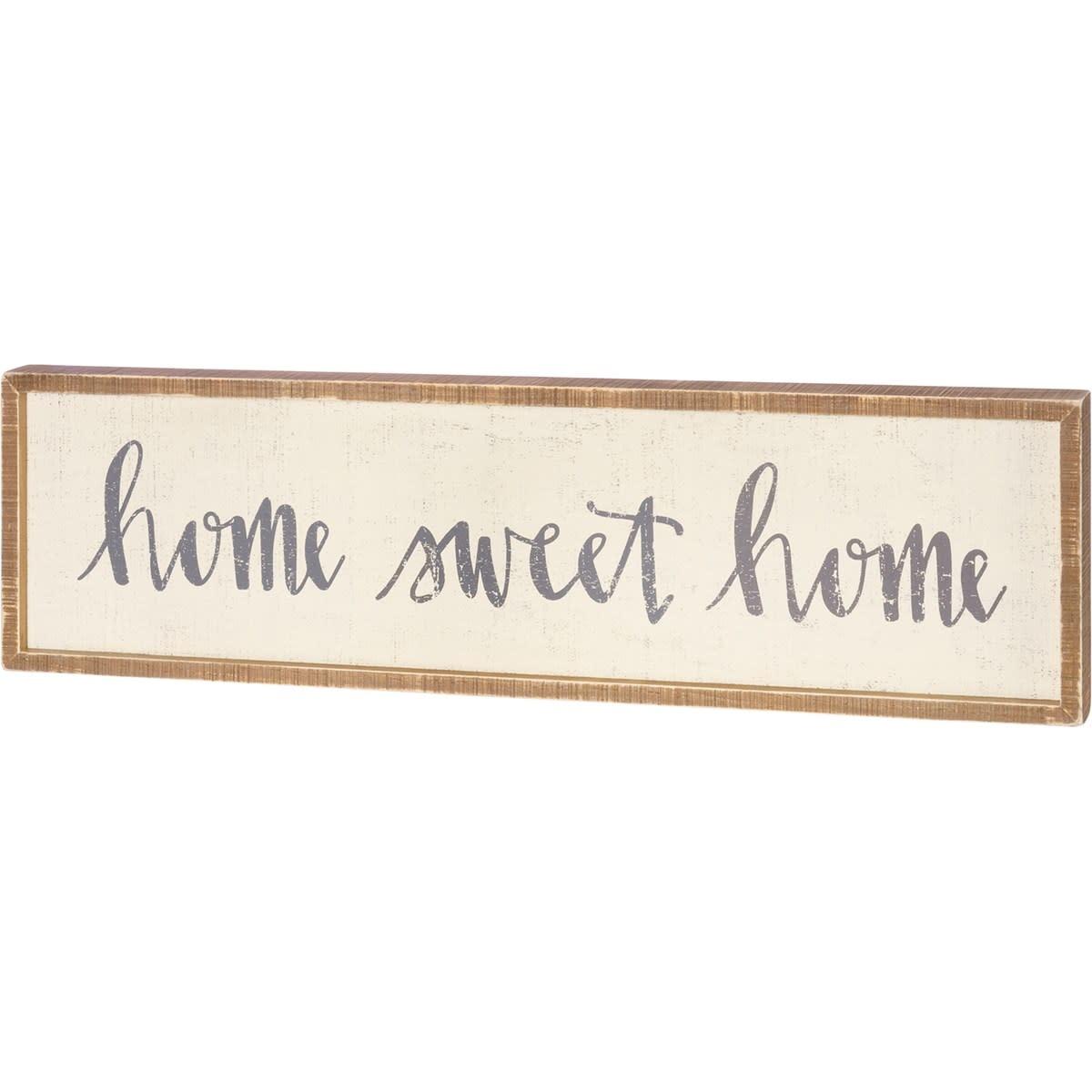 Primitives Inset Box Sign-Home