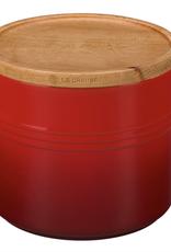 Le Creuset Le Creuset 1.5Qt Storage Canister w/wood lid