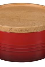 Le Creuset Le Creuset 23oz Storage Jar w/wood lid