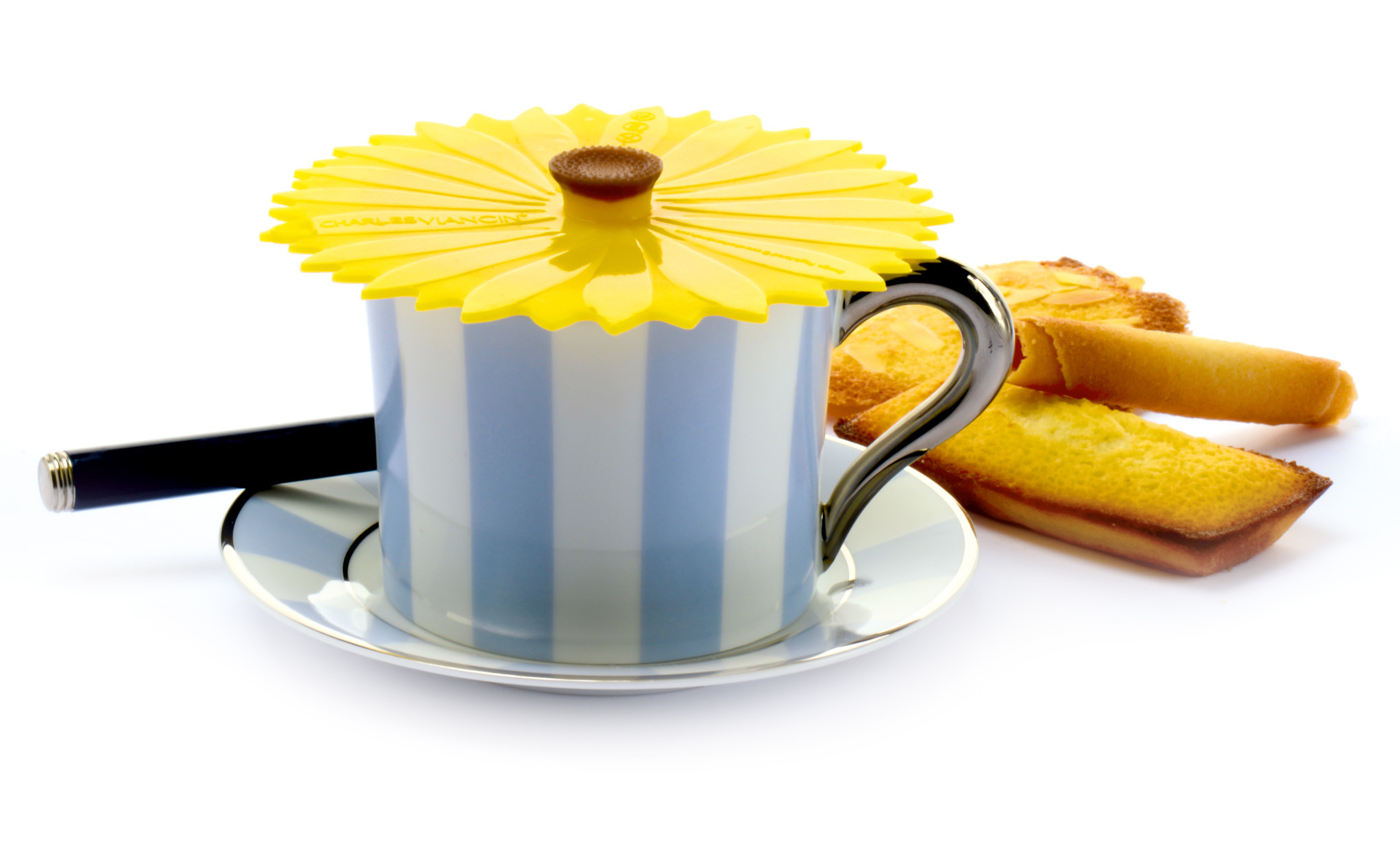Charles Viancin Drink Cover Sunflower S2