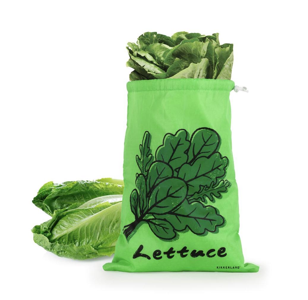 Kikkerland Stay Fresh Lettuce Bag