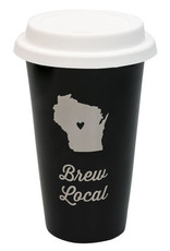 About Face Thermal Mug Wisconsin