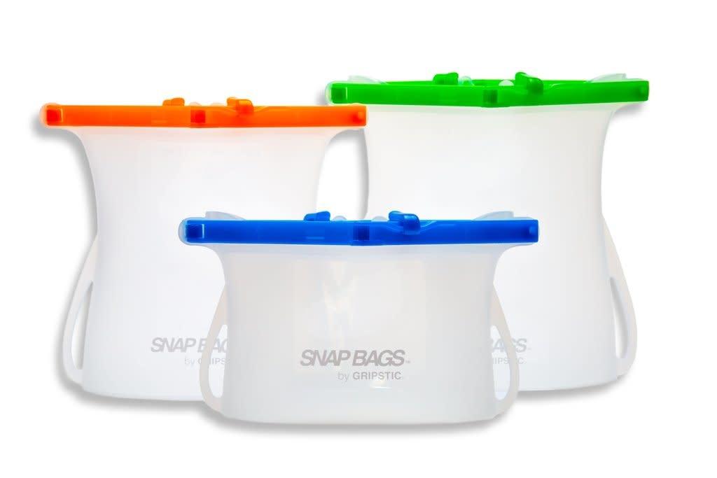 First 2 Market Snap Bag 3 pack  Set