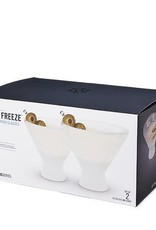 True HOST Freeze Martini Glass Set of 2