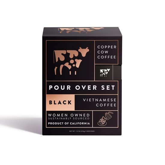 Copper Cow Coffee Straight Up 5/pack