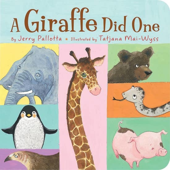 Sleeping Bear Press A Giraffe Board Book