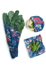 Bees Wrap Assorted 3 Pack (S, M, L) Terra Botanical Print