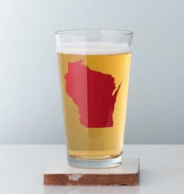Vital Industries Wisconsin Pint Glass