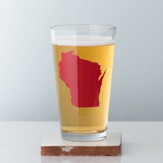 Vital Industries Wisconsin Pint Glass