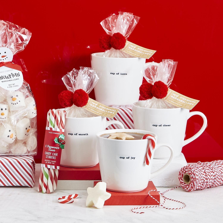 Twos Co Mug w/Star Marshmallows Design