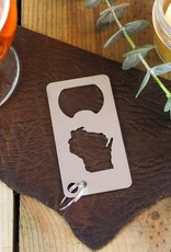 Iron Maid Art Steel Wisconsin with Bottle Opener