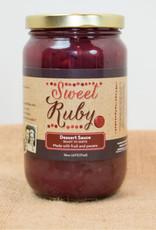 Sweet Ruby Dessert Sauce